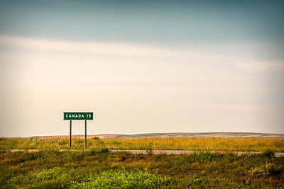 15 Miles From The Border Print by Todd Klassy