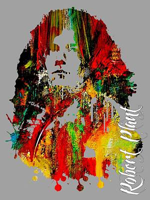 Robert Plant Mixed Media - Robert Plant Collection by Marvin Blaine