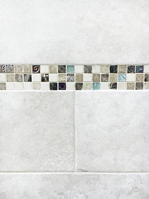 Marble Mosaic Photograph - Tiles by Tom Gowanlock