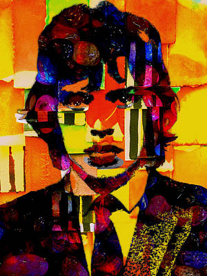 Stones Mixed Media - Mick Jagger Collection by Marvin Blaine