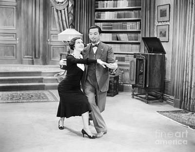 Unidentified Photograph - Silent Film Still: Dancing by Granger
