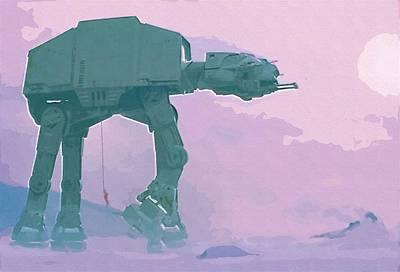 Vintage Star Wars Poster Print by Star Wars