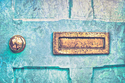 Blue Door Print by Tom Gowanlock