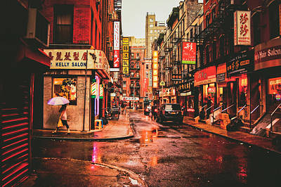 Streetscape Photograph - New York City by Vivienne Gucwa