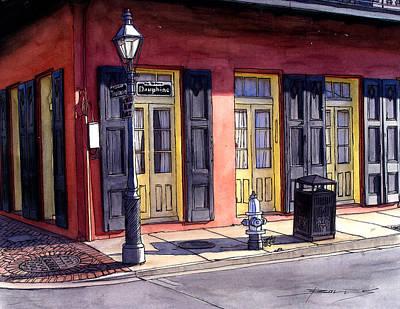 175 Sunday Morning In The French Quarter Original by John Boles