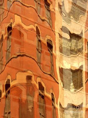 Abstract Print by Tony Cordoza