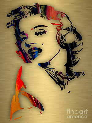 Hollywood Mixed Media - Marilyn Monroe Collection by Marvin Blaine