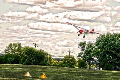 18 Painted Landing Photoart Print by Randall Branham