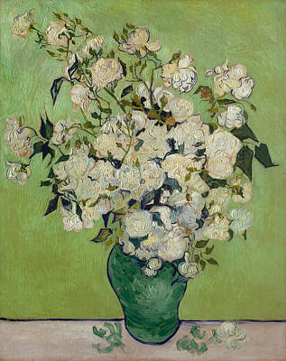 Roses Painting - Roses by Vincent van Gogh