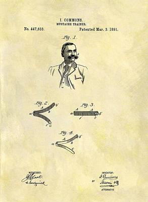 1891 Mustache Trainer Print by Dan Sproul