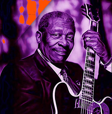 Bb King Collection Print by Marvin Blaine