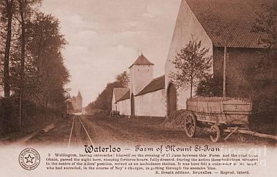 Napoleon Bonaparte Digital Art - 1900s Waterloo Farm Of Mount Saint Jean by Heidi De Leeuw