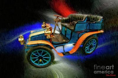 1902 Delahayetype Oa Rear Entry Tonneau Print by Blake Richards