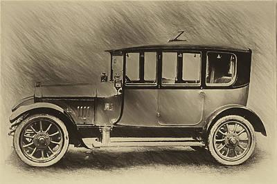 Hillman Digital Art - 1914 Hillman by John Haldane