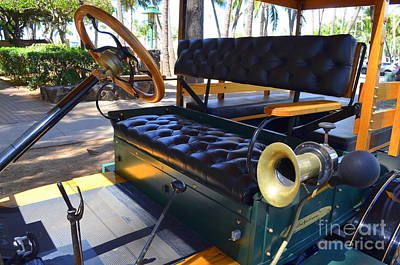 Photograph - 1916 Ford Model T Front Seat by Mary Deal