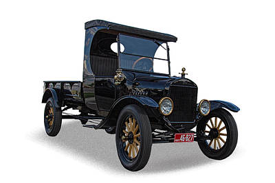 1923 Ford Model T Photograph - 1923 Ford Model T Truck by Nick Gray