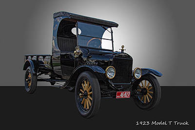 1923 Ford Model T Photograph - 1923 Model T Ford Truck by Nick Gray