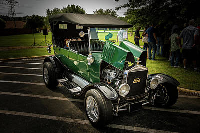 1924 Ford Model T Touring Hot Rod 5509.008 Print by M K  Miller
