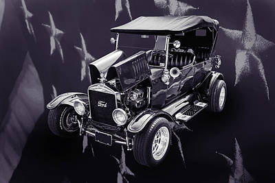 1924 Ford Model T Touring Hot Rod 5509.202 Print by M K  Miller