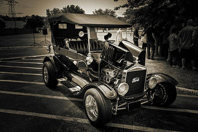 1924 Ford Model T Touring Hot Rod 5509.207 Print by M K  Miller