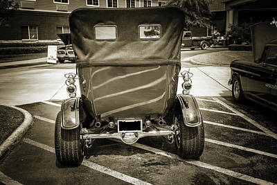 1924 Ford Model T Touring Hot Rod 5509.213 Print by M K  Miller