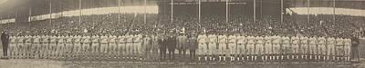 Negro Photograph - 1924 Negro League World Series. Players by Everett