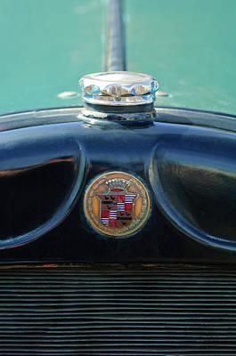 1925 Cadillac Hood Ornament And Emblem Print by Jill Reger