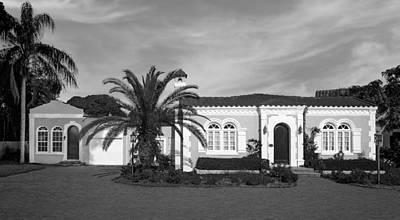 Florida House Photograph - 1925 Florida Venetian Style Home - 14 by Frank J Benz