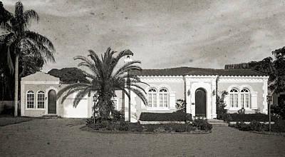 Florida House Photograph - 1925 Florida Venetian Style Home - 15 by Frank J Benz