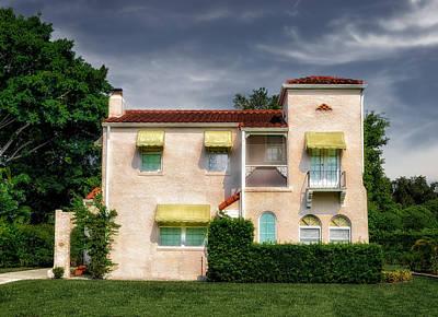 Florida House Photograph - 1926 Florida Venetian Style Home - 46 by Frank J Benz