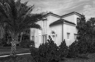 Florida House Photograph - 1926 Florida Venetian Style Home - 5 by Frank J Benz