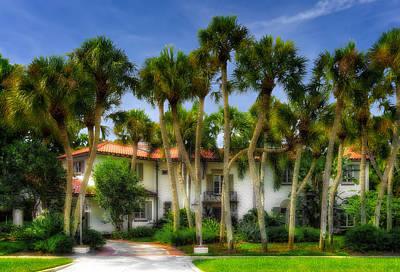 Florida House Photograph - 1926 Venetian Style Florida Home - 16 by Frank J Benz