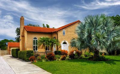 Florida House Photograph - 1926 Venetian Style Florida Home - 28 by Frank J Benz