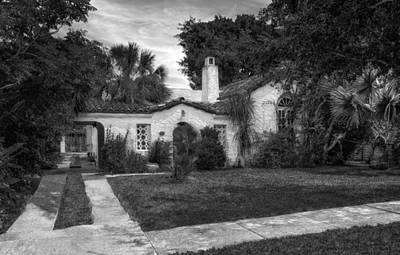 Florida House Photograph - 1926 Venetian Style Florida Home - 32 by Frank J Benz