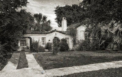 Florida House Photograph - 1926 Venetian Style Florida Home - 33 by Frank J Benz