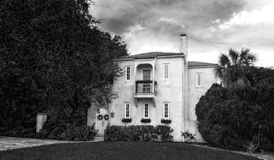 Florida House Photograph - 1926 Venetian Style Home - 35 by Frank J Benz