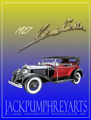 1927 Lasalle Print by Jack Pumphrey