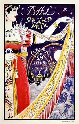 Op Art Photograph - 1929 Opera Poster by Jon Neidert