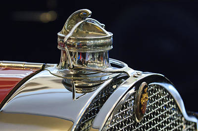 1929 Packard 8 Hood Ornament 3 Print by Jill Reger
