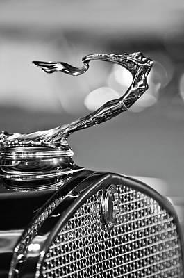 1930 Cadillac Roadster Hood Ornament 2 Print by Jill Reger