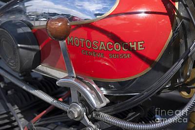 Old Photograph - 1930 Motosacoche by George Atsametakis