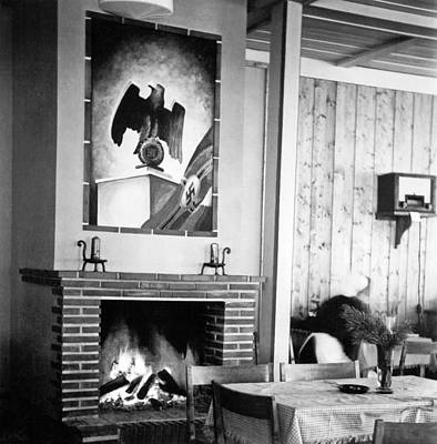 Ww2 Photograph - 1930's German Gasthaus by Charles Meagher