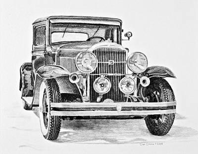 1931 Buick Print by Daniel Storm