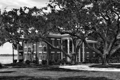 1931 Florida Waterfront Home - 2 Print by Frank J Benz