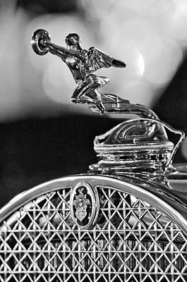 Hoodie Photograph - 1931 Packard Convertible Victoria Hood Ornament 2 by Jill Reger