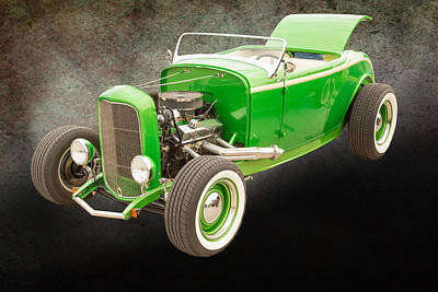 1932 Ford Roadster Color Photographs And Fine Art Prints 003.02 Print by M K  Miller