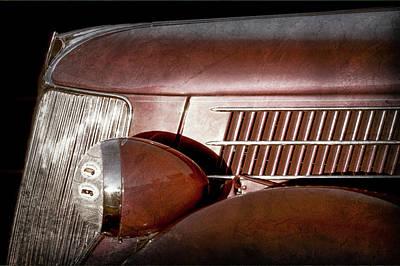 1936 Ford Phaeton -0303ac Print by Jill Reger