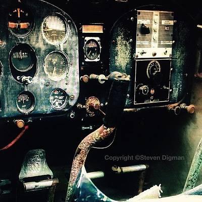 Airplane Photograph - 1939 Fairchild 24r2                 by Steven  Digman