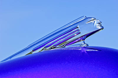 1939 Pontiac Coupe Hood Ornament 2 Print by Jill Reger