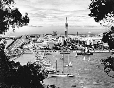 1939 Treasure Island View Print by Underwood Archives